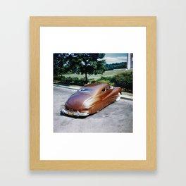 Jack Stewart '41 Coupe Framed Art Print