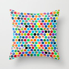 social media - neverending quest Throw Pillow