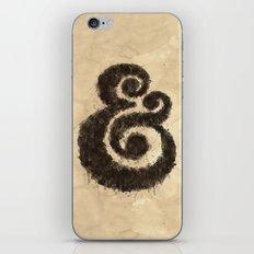 Ink Ampersand iPhone & iPod Skin