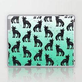Grey Coyote Laptop & iPad Skin