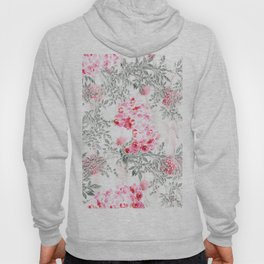 PINK ORCHIDS IN SPRING BLOOM Hoody