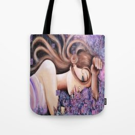 Illustration, painting,  photo, nature, flowers Tote Bag