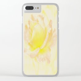 Rose Golden Clear iPhone Case
