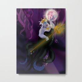 Queen Ursula Metal Print