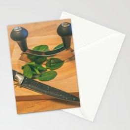 Chopped. Stationery Cards