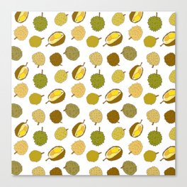 Durian Fruit Canvas Print