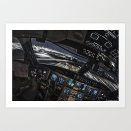 32R Clear to land Art Print