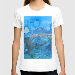 NYC East River Waterway Environment T-shirt