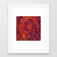 illusion Framed Art Prints featuring Illusion... by Cherie DeBevoise