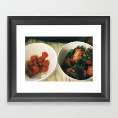 berry perfect Framed Art Print