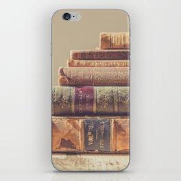 Vintage Books iPhone Skin