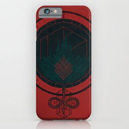 Dark Dahlia iPhone Case