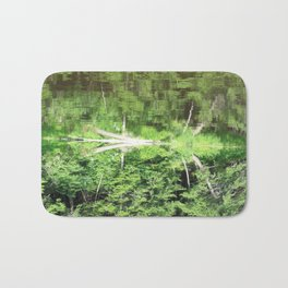 With arms Outstretched Bath Mat