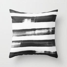 strokes Throw Pillow
