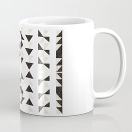 Origami Triangles Coffee Mug