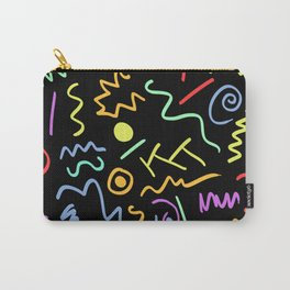 90s Neon Carry-All Pouch