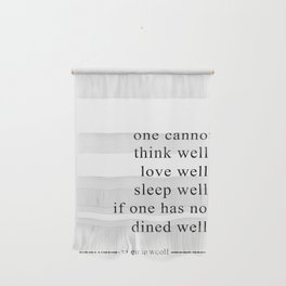 DINE WELL Wall Hanging