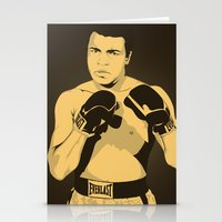 ali gulec Stationery Cards featuring Ali by Renan Lacerda