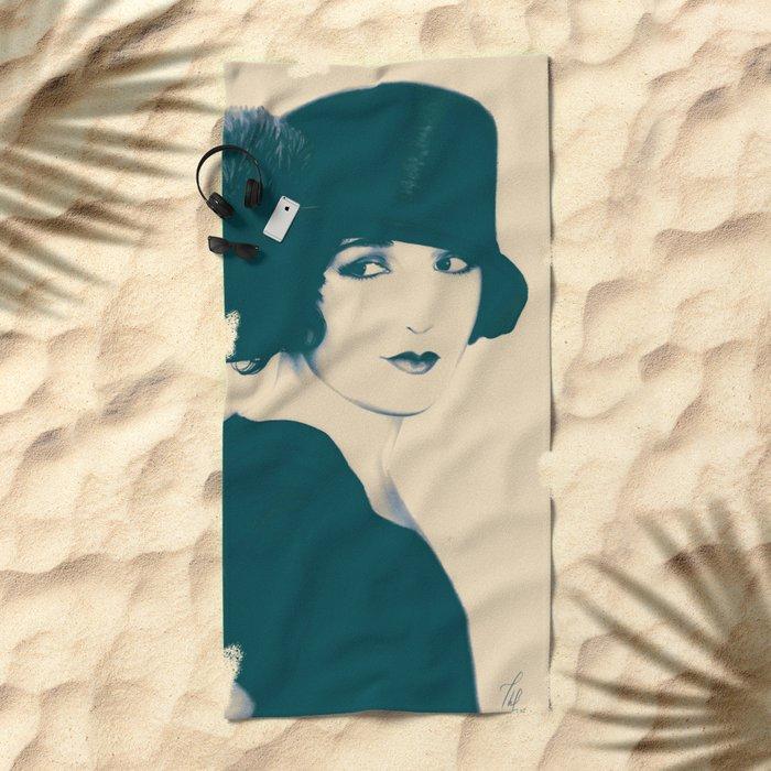 Nevermind Beach Towel