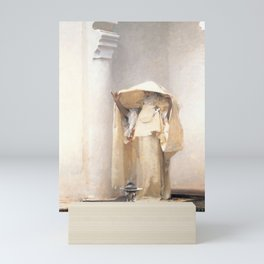 Fumée d'Ambre Gris - Smoke of Ambergris by John Singer Sargent Mini Art Print