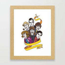 Cheese! Framed Art Print