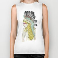 hunting Biker Tanks featuring Hunting // by Lukka