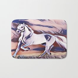 The American Paint Horse Bath Mat