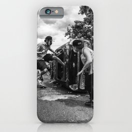 High Kick iPhone Case