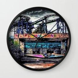 The Cool Zone, Landscape Portrait by Jeanpaul Ferro Wall Clock