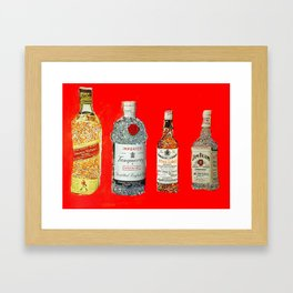 Glam Bar Framed Art Print