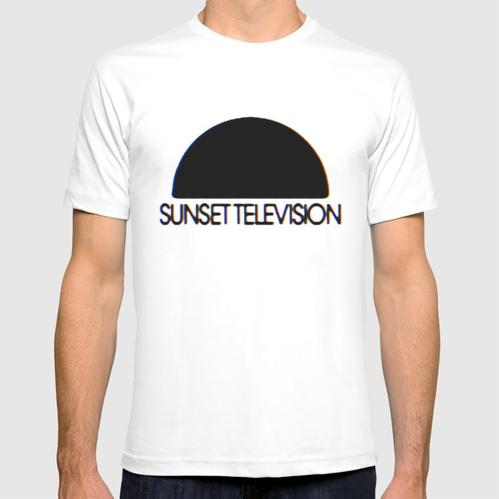 Sunset Television Logo T-shirt