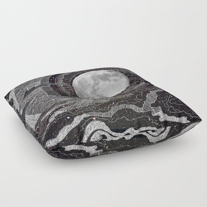 Moon Glow Floor Pillow