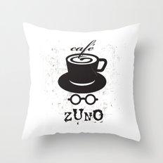 Cafe Zuno Throw Pillow
