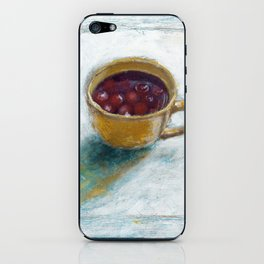 Cherry compote in my cup iPhone Skin