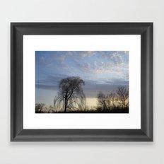 Willow on the Horizon Framed Art Print