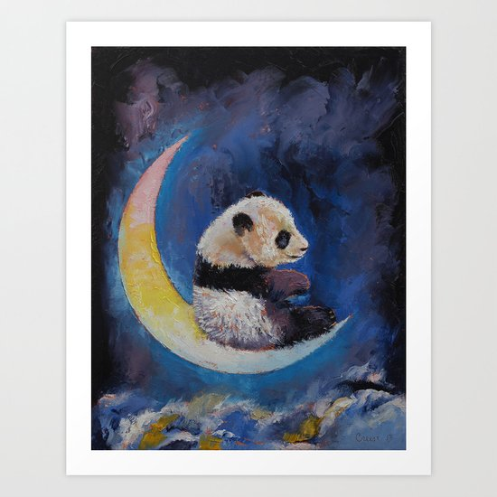 Crescent Moon Art Print