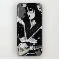 spaceman iPhone & iPod Skins featuring Spaceman by Ed Pires