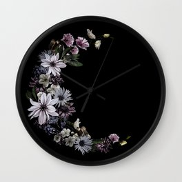 Spring Moon Wall Clock