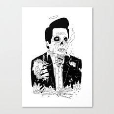 Dead Famous - Cash Canvas Print