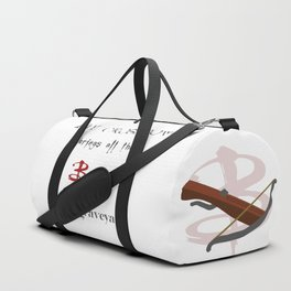Buffy's Crossbow Duffle Bag