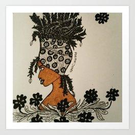 Chica Bonita Art Print