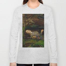 John Everett Millais - Ophelia Long Sleeve T-shirt