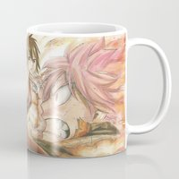 fairy tail Mugs featuring fairy tail eclaire by 6alba