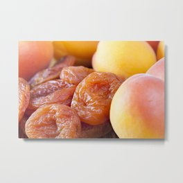 very dried apricots Metal Print