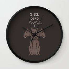 Monster Issues - Cerberus Wall Clock
