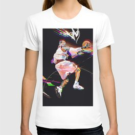 Philadelphia Sports Icon #3 Basketball Player Poster T-shirt