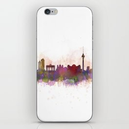 Berlin City Skyline HQ1 iPhone Skin