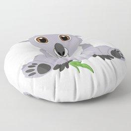 Cute Little Koala Bear Floor Pillow