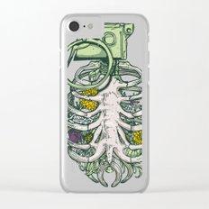 Grenade Garden Clear iPhone Case