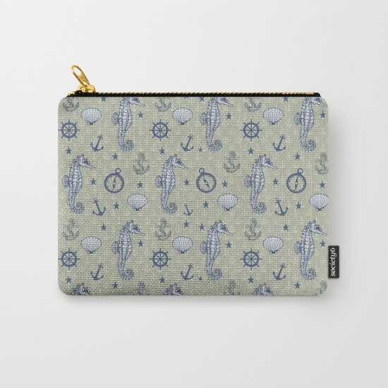 Seahorses Carry-All Pouch